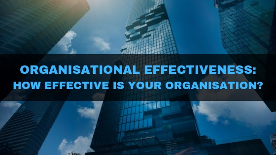 Organisational Effectiveness: How effective is your organisation?