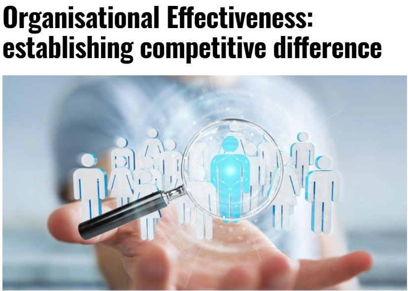 Organisational Effectiveness: establishing competitive difference