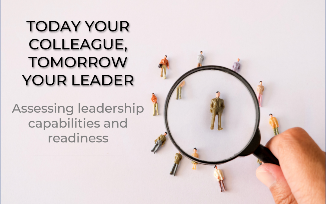 Today your colleague, tomorrow your leader: assessing leadership capabilities and readiness